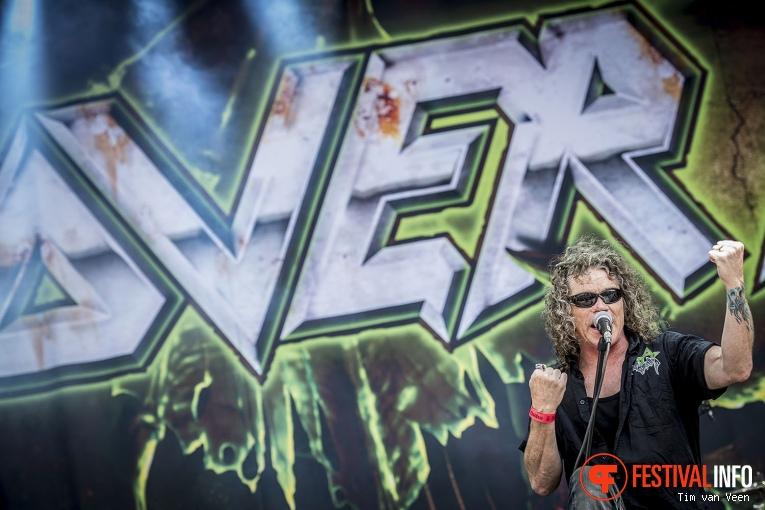 Overkill op Graspop Metal Meeting 2016 dag 3 foto