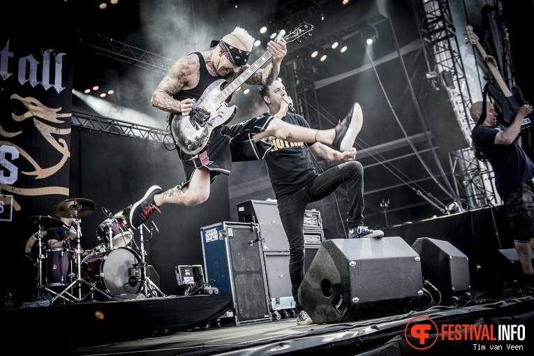 Sick Of It All op Graspop Metal Meeting 2016 dag 3 foto
