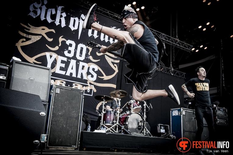 Sick Of It All op Graspop Metal Meeting 2016 dag 3 foto