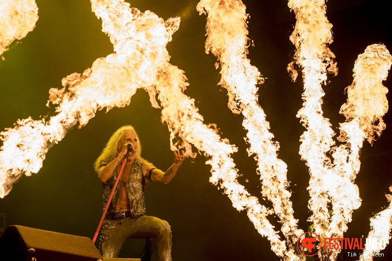 Twisted Sister op Graspop Metal Meeting 2016 dag 3 foto