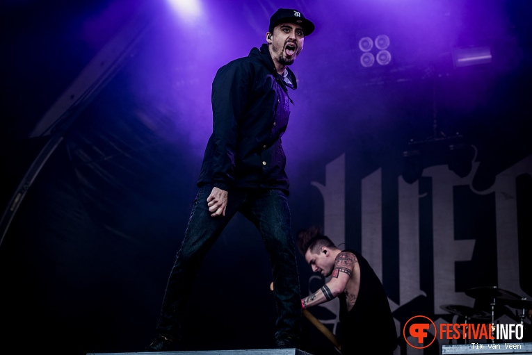 We Came As Romans op Graspop Metal Meeting 2016 dag 3 foto