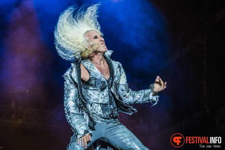 Foto Twisted Sister op Graspop Metal Meeting 2016 dag 3