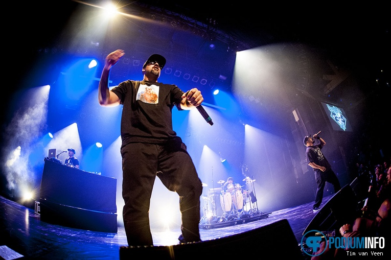 Cypress Hill op Cypress Hill - 22/06 - TivoliVredenburg foto