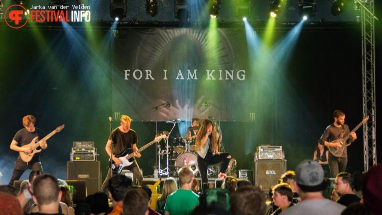For I Am King op Jera On Air 2016 - Vrijdag foto