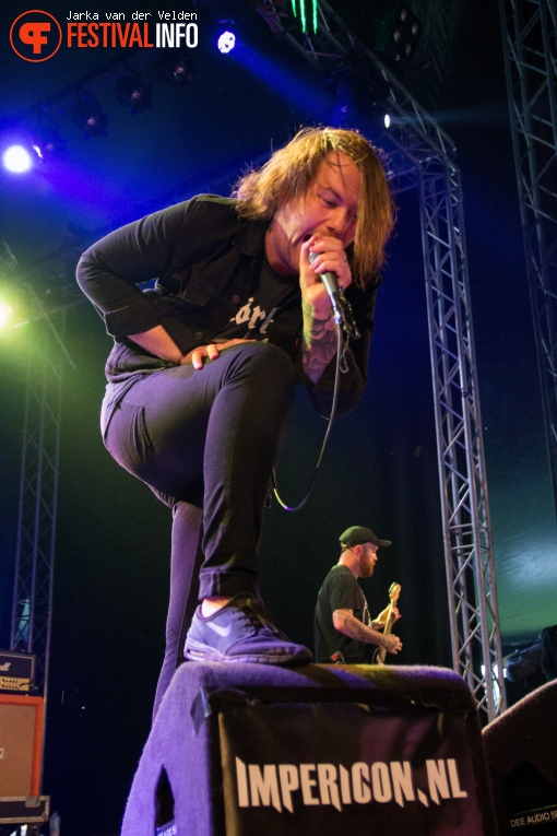 Beartooth op Jera On Air 2016 - Zaterdag foto