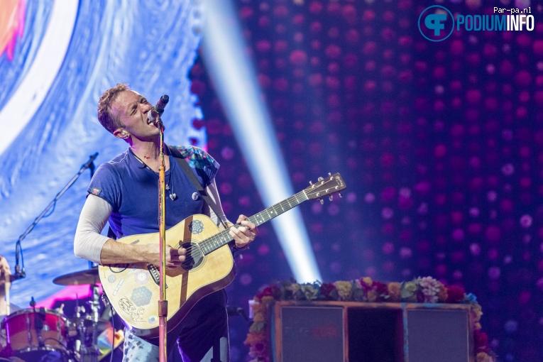 Coldplay op Coldplay - 23/06 - Amsterdam Arena foto