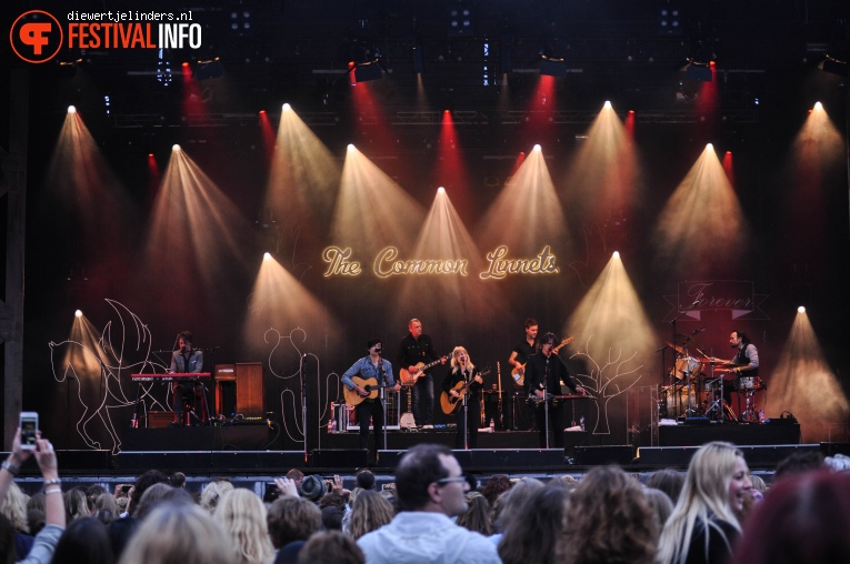 The Common Linnets op Share A Perfect Day 2016 foto