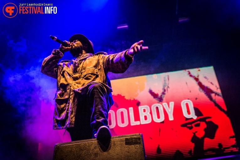 Foto Schoolboy Q op WOO HAH! 2016