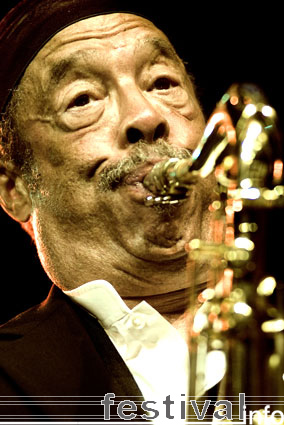 Johnny Griffin op North Sea Jazz 2007 foto