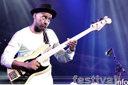 Marcus Miller op North Sea Jazz 2007 foto