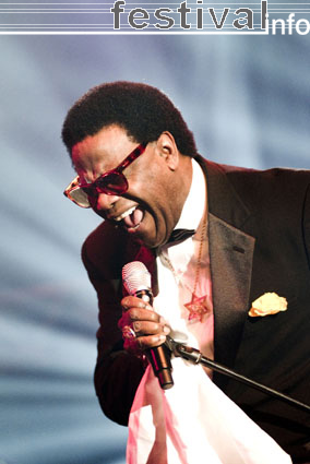 Al Green op North Sea Jazz 2007 foto