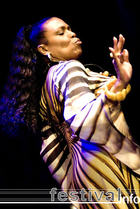 Dee Dee Bridgewater op North Sea Jazz 2007 foto