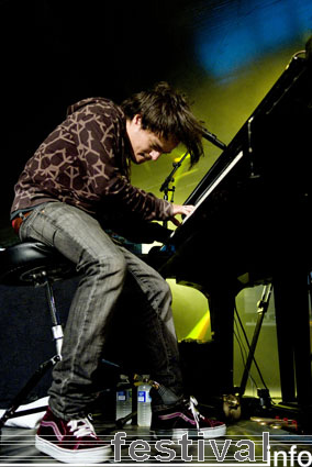 Jamie Cullum op North Sea Jazz 2007 foto