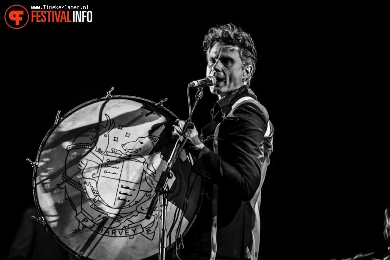 PJ Harvey op Rock Werchter 2016 - Zaterdag foto
