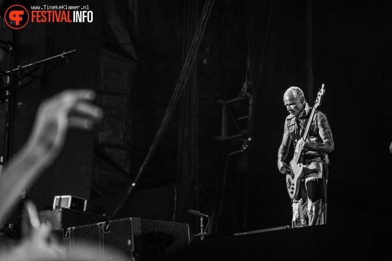 Red Hot Chili Peppers op Rock Werchter 2016 - Zaterdag foto