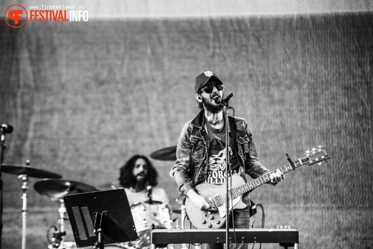 Band Of Horses op Rock Werchter 2016 - Zaterdag foto