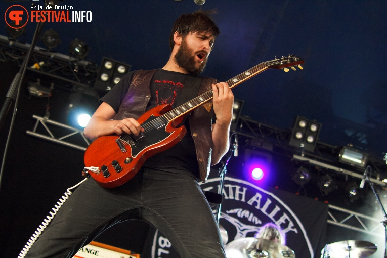 Death Alley op Metropolis Festival 2016 foto