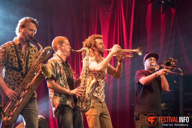 Foto Bixiga 70 op North Sea Jazz 2016 - Zaterdag