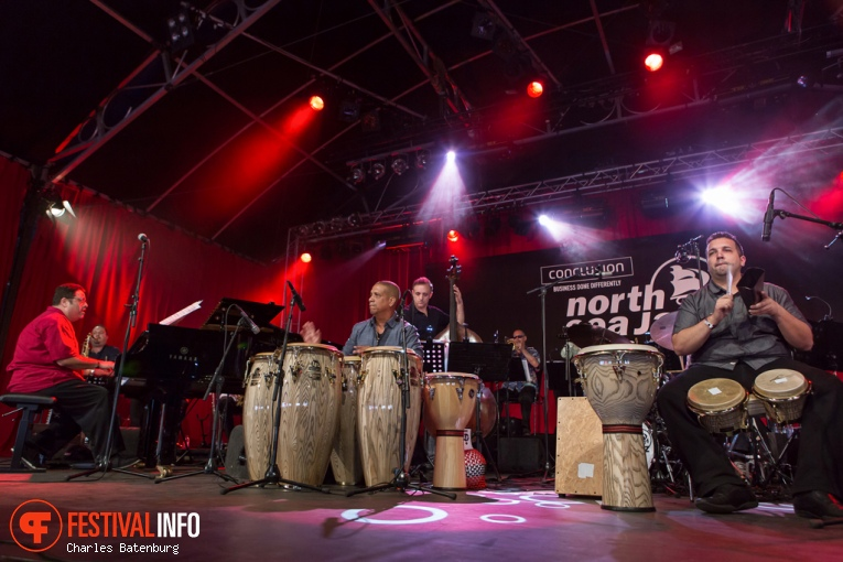 Foto Arturo O'Farrill & The Afro Latin Jazz Orchestra op North Sea Jazz 2016 - Zaterdag