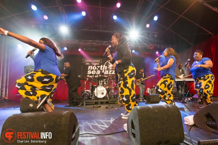 The Jones Family Singers op North Sea Jazz 2016 - Zondag foto