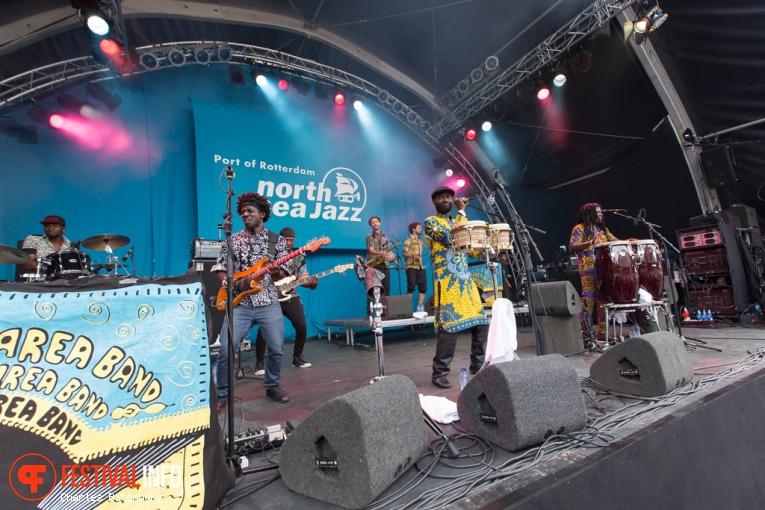 Pat Thomas & Kwashibu Area Band op North Sea Jazz 2016 - Zondag foto