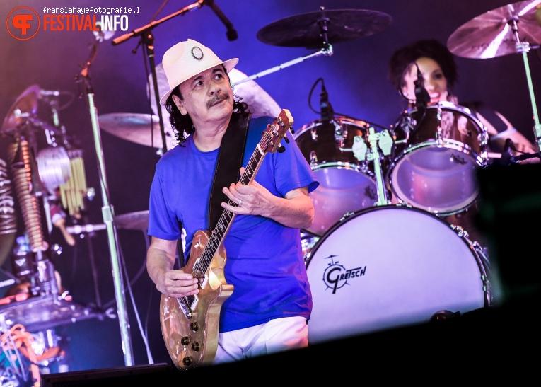 Foto Santana op Bospop 2016