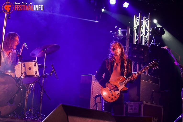Foto DeWolff op Stone Rock Festival 2016