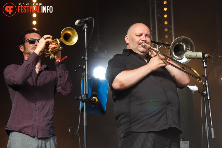 Smokey Joe & The Kid op Westerpop 2016 foto