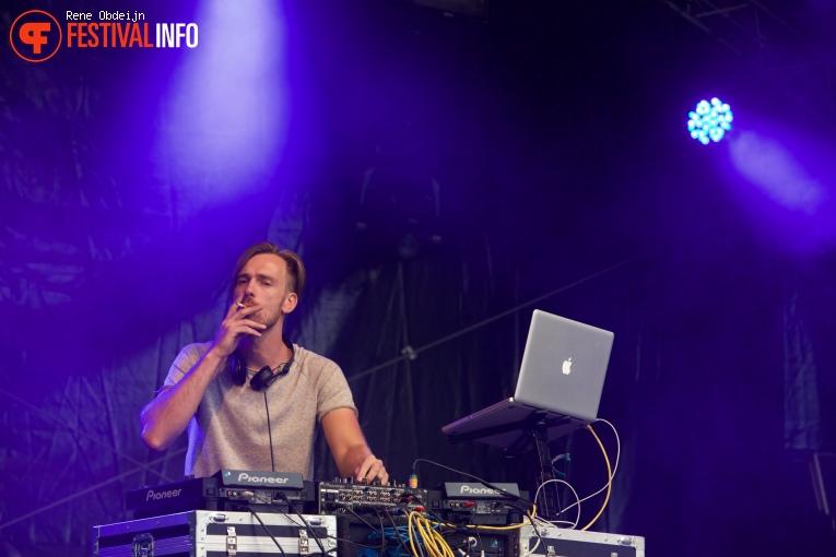 Rob Rolefes op Fields of Joy Festival 2016 foto