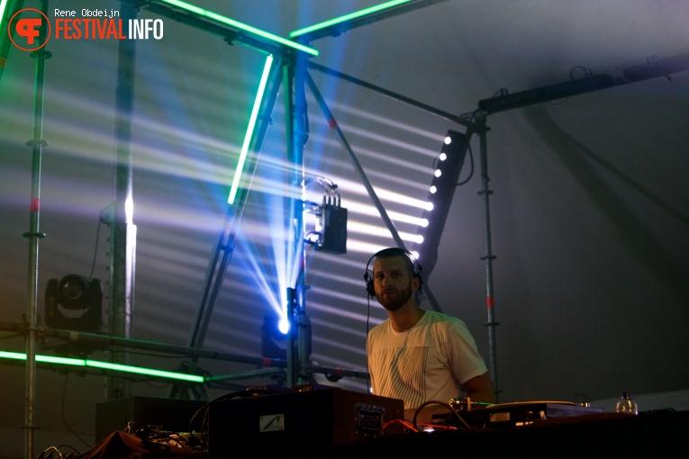 Foto DJ Dr. Anders op Fields of Joy Festival 2016