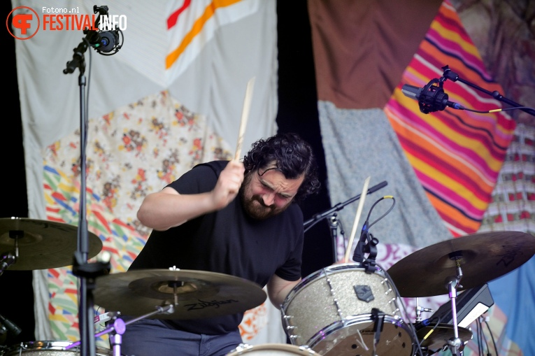 The Boxer Rebellion op Welcome To The Village 2016 - Zaterdag foto