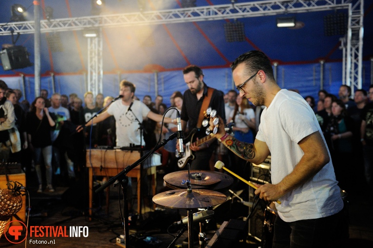 S.T. Cordell op Welcome To The Village 2016 - Zaterdag foto