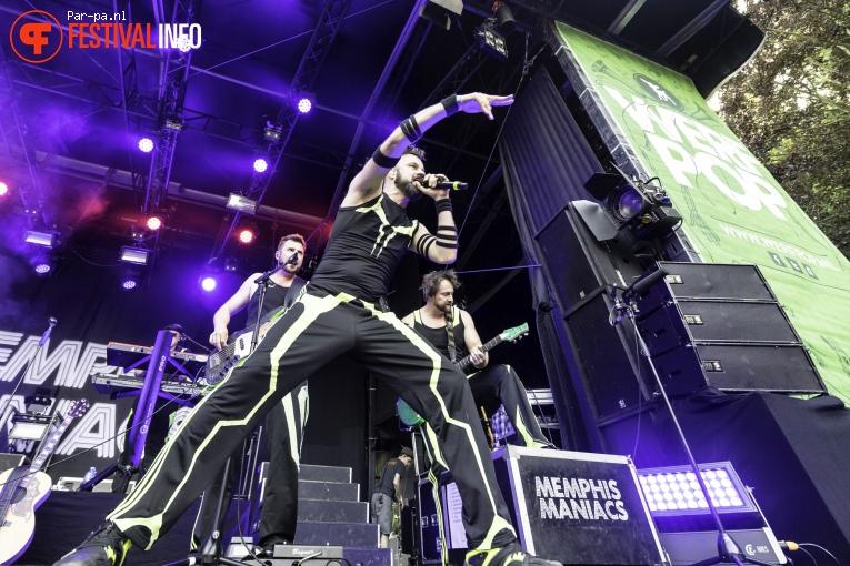 Foto Memphis Maniacs op Werfpop 2016