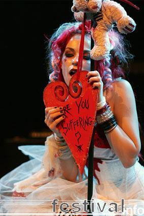 Emilie Autumn op Amphi Festival 2007 foto