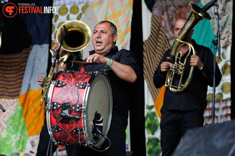 Fanfare Ciocarlia op Welcome To The Village 2016 - Zondag foto