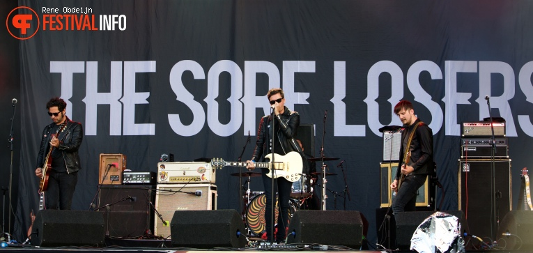 Foto The Sore Losers op Suikerrock 2016