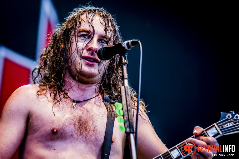 Airbourne op Into The Grave 2016 foto