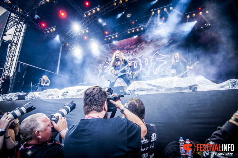 Exodus op Into The Grave 2016 foto