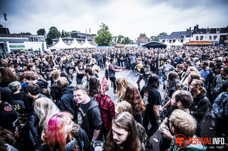 Unearth op Into The Grave 2016 foto