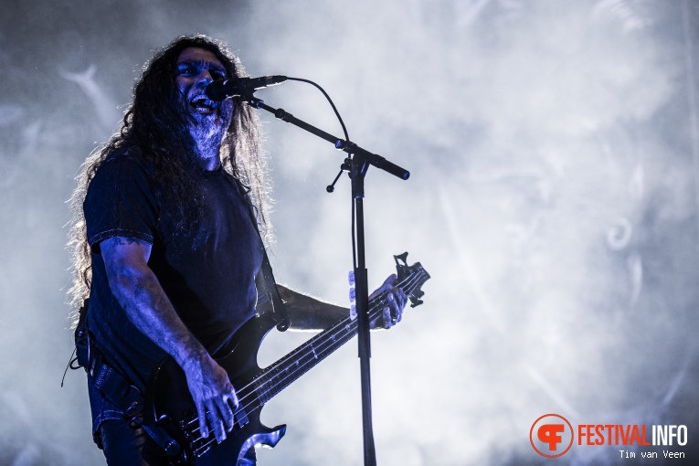 Slayer op Into The Grave 2016 foto
