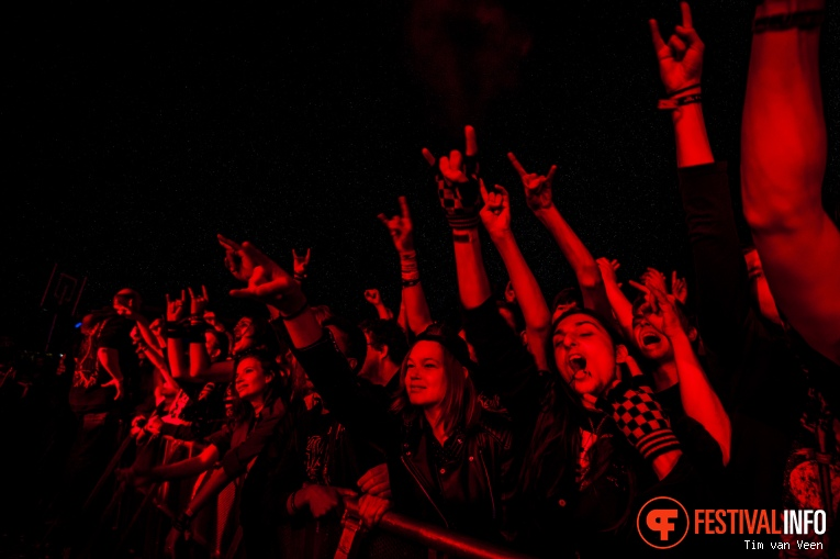 Kreator op Into The Grave 2016 foto