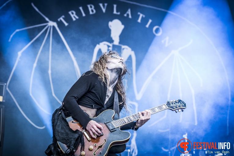 Tribulation op Into The Grave 2016 foto