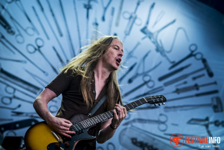 Foto Carcass op Into The Grave 2016
