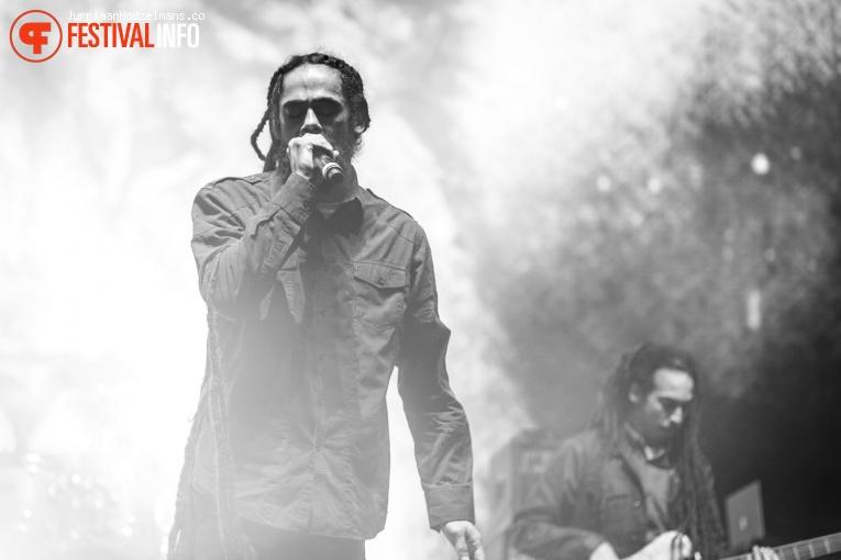 Damian 'Jr Gong' Marley op Pukkelpop 2016 - Zaterdag foto