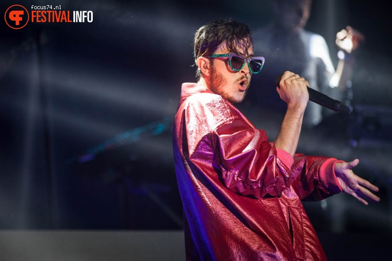 Foto Oscar And The Wolf op Lowlands 2016 - Vrijdag
