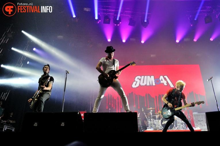Sum 41 op Lowlands 2016 - Zaterdag foto