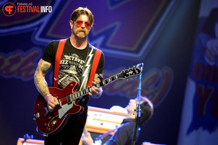 Eagles of Death Metal op Lowlands 2016 - Zondag foto