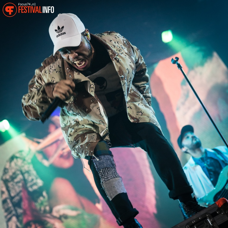 Anderson .Paak & The Free Nationals op Lowlands 2016 - Zondag foto