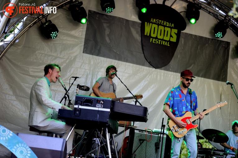 Bent van Looy op Amsterdam Woods Festival 2016 - vrijdag foto