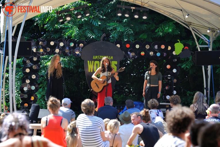 Pitou op Amsterdam Woods Festival - Zaterdag foto